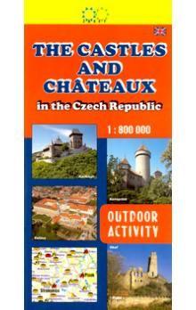 Jan Halady: The Castles and Chateaux 1:800 000 cena od 29 Kč