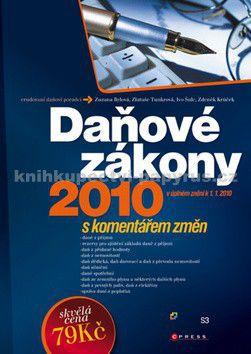 CPress Daňové zákony 2010 cena od 79 Kč