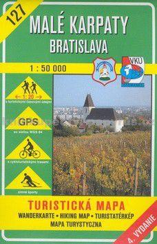 VKÚ Malé Karpaty Bratislava 1 : 50 000 cena od 95 Kč
