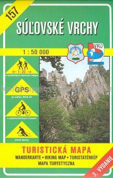 VKÚ Súľovské vrchy 1:50 000 cena od 111 Kč