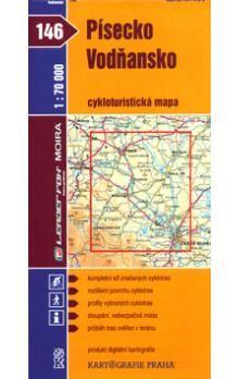 Kartografie PRAHA Písecko, Vodňansko 1:70 000 cena od 18 Kč