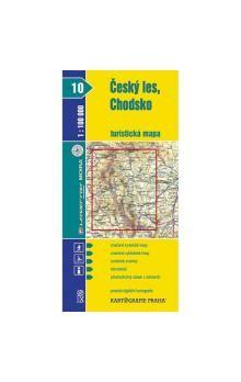 Český les, Chodsko turistická mapa 1:100 000 cena od 18 Kč