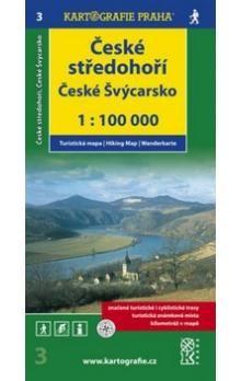 Kartografie PRAHA České středohoří, České Švýcarsko 1:100 000 cena od 56 Kč