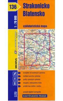 Kartografie PRAHA Strakonicko, Blatensko 1 : 70 000 cena od 56 Kč