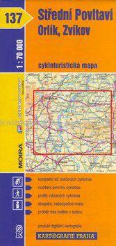 Kartografie PRAHA Střední Povltaví, Orlík, Zvíkov 1 : 70 000 cena od 49 Kč