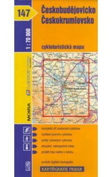 Kartografie PRAHA Českobudějovicko, Českokrumlovsko 1 :70 000 cena od 62 Kč