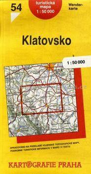 Kartografie PRAHA TM 54 Klatovsko 1:50 000 cena od 38 Kč