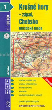 Kartografie PRAHA Krušné hory - západ, Chebsko 1:100 000 cena od 79 Kč