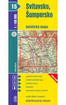 Kartografie PRAHA Svitavsko, Šumpersko 1:100 000 cena od 18 Kč