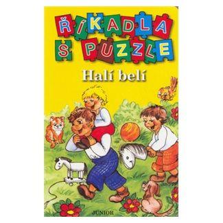JUNIOR Říkadla s puzzle Halí belí cena od 29 Kč
