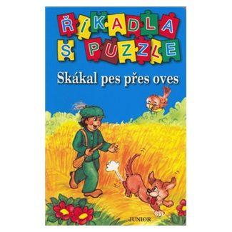 JUNIOR Říkadla s puzzle Skákal pes přes oves cena od 31 Kč