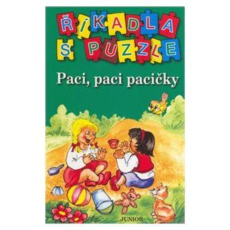 JUNIOR Říkadla s puzzle Paci, paci pacičky cena od 31 Kč