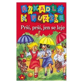 JUNIOR Říkadla s puzzle Prší, prší, jen se leje cena od 29 Kč