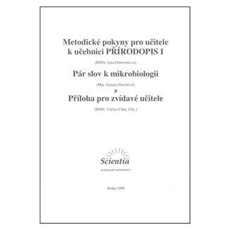 Dobroruková J.: Metodické pokyny pro učitele k učebnici Přírodopis I. cena od 44 Kč