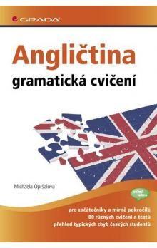 Michaela Opršalová: Angličtina - gramatická cvičení cena od 42 Kč