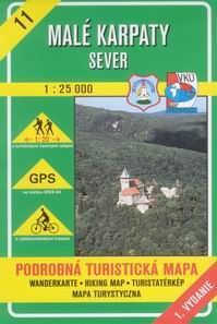 Malé Karpaty - sever 1 : 25 000 cena od 78 Kč