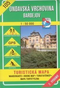 Ondavská vrchovina 1 : 50 000 cena od 99 Kč