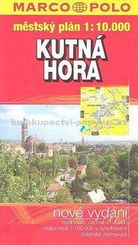 Marco Polo Kutná Hora plán GCS 1:10 000 cena od 42 Kč
