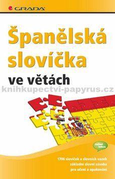 GRADA Španělská slovíčka ve větách cena od 93 Kč