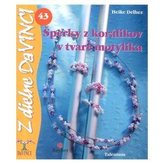 Heike Delhez: Šperky z korálikov v tvare motýlika - DaVINCI 43 cena od 48 Kč