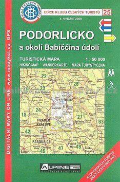 KČT 25 Podorlicko a okolí Babiččina údolí cena od 89 Kč