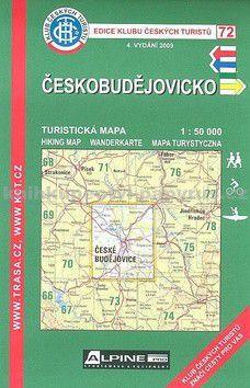 Kolektiv: KCT72-Českobudějovicko cena od 50 Kč