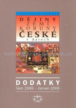 LIBRI Dějiny zemí Koruny české v datech Dodatky cena od 100 Kč