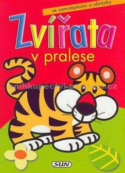 Javier Inaraja: Zvířata v pralese - tygr /samolepky/ cena od 0 Kč