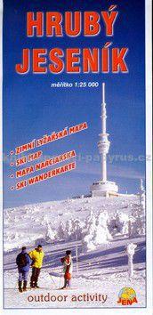 JENA Hrubý Jeseník zimní mapa 1:25000 cena od 56 Kč