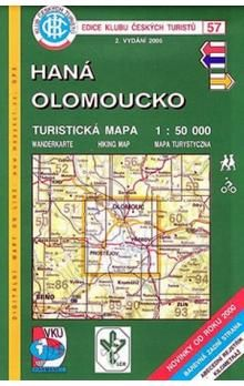 Kolektiv: 57 KČT Haná - Olomoucko cena od 65 Kč