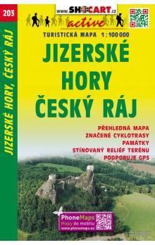 Jizerské hory Český ráj 1:100 000 cena od 60 Kč