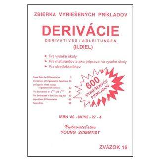 Marián Olejár, Iveta Olejárová: Derivácie II.diel cena od 56 Kč