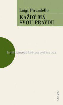 Luigi Pirandello: Každý má svou pravdu cena od 60 Kč