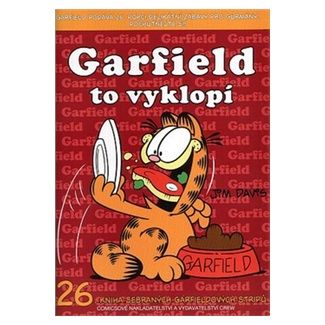 Jim Davis: Garfield to vyklopí cena od 74 Kč