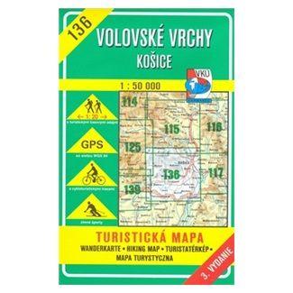 VKÚ Volovské vrchy Košice 1:50 000 cena od 72 Kč