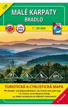 Malé Karpaty Bradlo 1 : 50 000 cena od 80 Kč