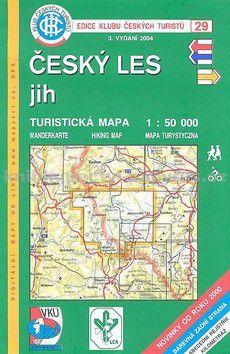 KČT 29 Český les jih cena od 90 Kč
