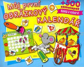 JUNIOR Můj první obrázkový kalendář cena od 58 Kč