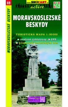 SHOCART Moravskoslezské Beskydy 1:50 000 cena od 86 Kč