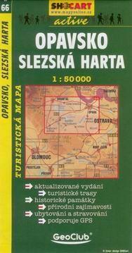 SHOCART Opavsko Slezská Harta 1:50 000 cena od 69 Kč
