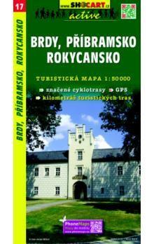 SHOCART Brdy, Příbramsko, Rokycansko 1:50 000 cena od 86 Kč