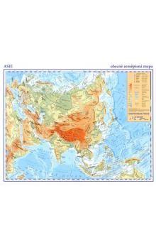 Kartografie PRAHA Asie Obecně zeměpisná mapa cena od 29 Kč