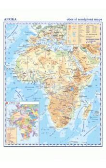 Kartografie PRAHA Afrika Obecně zeměpisná mapa cena od 29 Kč