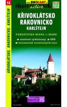 Křivoklátsko Rakovnicko Karlštejn 1:50 000 cena od 82 Kč