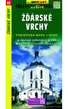 SHOCART Žďárské vrchy 1:50 000 cena od 73 Kč