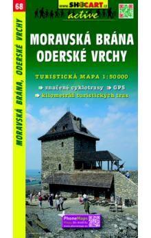 Moravská brána Oderské vrchy 1:50 000 cena od 69 Kč