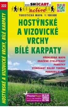 Hostýnské a Vizovické vrchy Bílé Karpaty 1:100 000 cena od 49 Kč