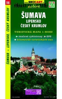 SHOCART Šumava Lipensko Český Krumlov1:50 000 cena od 76 Kč