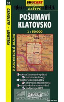 Pošumaví Klatovsko 1:50T cena od 58 Kč
