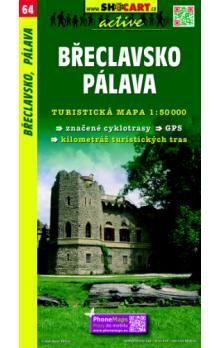 Břeclavsko Pálava 1:50 000 cena od 73 Kč